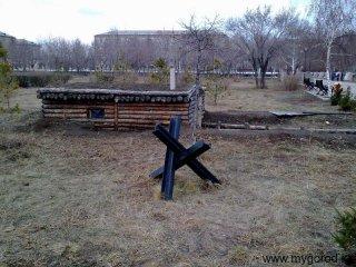 Блиндаж - Парк Победы (апрель)