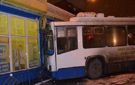 Авария троллейбус