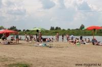 Городской пляж р.Ишим