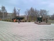 Пушка - Парк Победы (апрель)