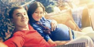 Семья ждет ребенка