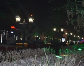 разбитые фонари
